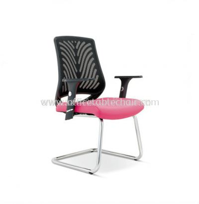 INSIST VISITOR MESH CHAIR  WITH CHROME CANTILEVER ASE 2626