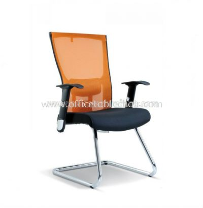 ITOS MESH VISITOR CHAIR WITH CHROME CANTILEVER BASE ASE 2113