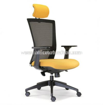 TALENT HIGH BACK MESH CHAIR WITH ROCKET NYLON BASE ASE 2655