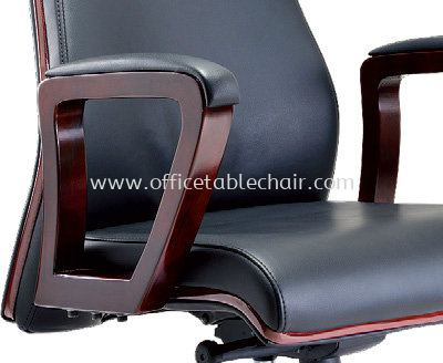 BRAVO SPECIFICATION - LOOP TYPE WOODEN ARMREST WITH PADDLE ENSURING ARM SUPPPORT COMFORT