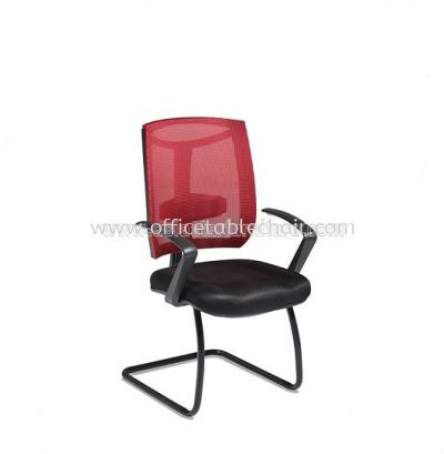 JENKAL VISITOR MESH CHAIR WITH STEEL BASE & BACK SUPPORT AJK-N3