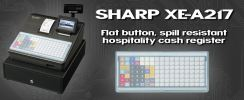 XE-A217B SHARP CASH REGISTER
