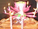Music Blossom Lotus Flower Candle -2002 0101 01 Candle Candle Party Supplies