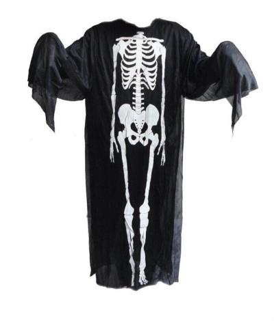 Halloween \ Skeleton Ghost Costume \ 90cm Kid size