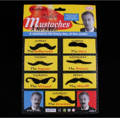 Stylish Mustaches H02-7