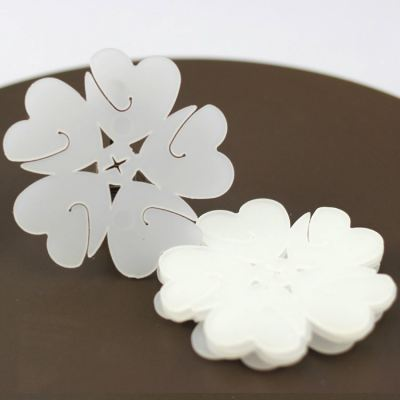 Plum Flower Balloons Clips - 0501 02