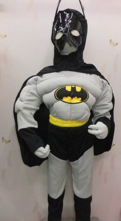 Deluxe Batman Kid Costume - 3004 0101
