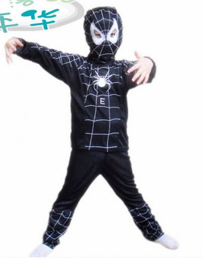 Spiderman Kids Black