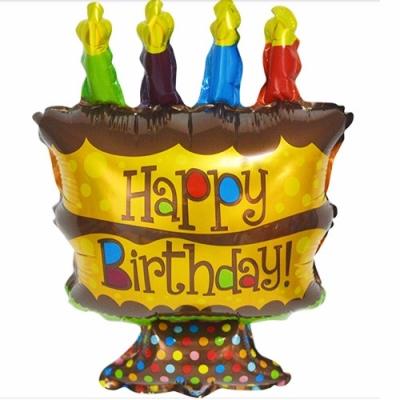 Foil Birthday 48*28cm - 2117 0402 02
