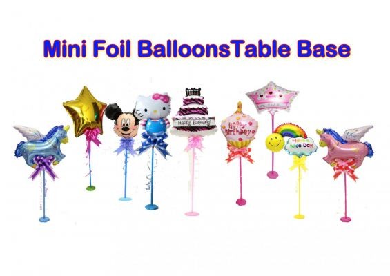 Mini Balloon Table Set