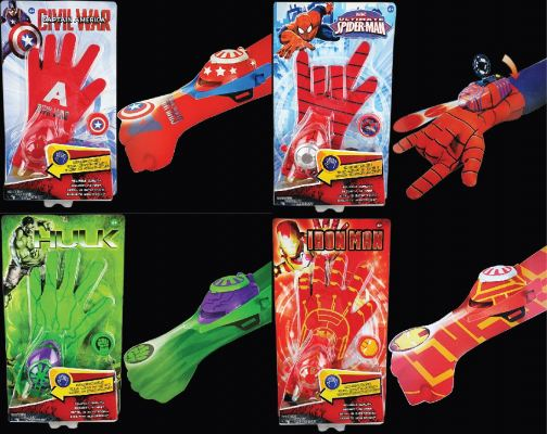 Superhero Wrist Shooter Glove