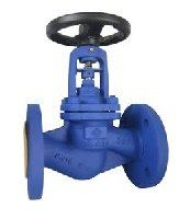 AUTOMA C/Steel DIN Bellows Seal Globe Valve
