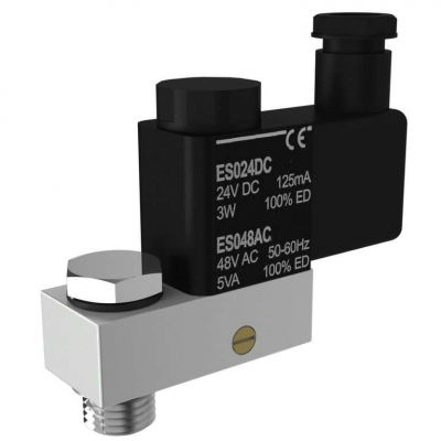 Direct Mount 3/2-way Solenoid Valve