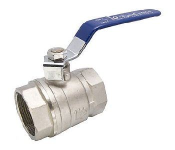 AUTOMA BALL VALVE NICKEL PLATED BODY PN25