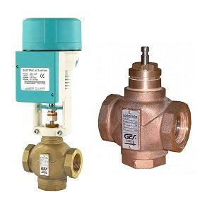 Electric Bronze Globe Valve (On-off or Control)