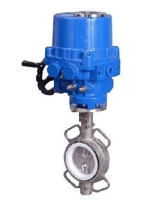 ELECTRIC ACTUATOR BUTTERFLY VALVE SS316 DN100~DN600