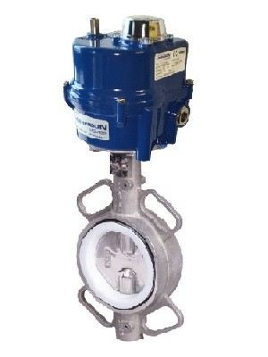 ELECTRIC ACTUATOR BUTTERFLY VALVE SS316 DN40~DN250
