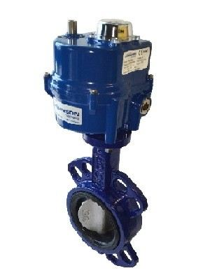 ELECTRIC ACTUATOR BUTTERFLY VALVE DN40~DN300