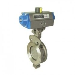PNEUMATIC ACTUATOR BUTTERFLY VALVE HIGH PERFORMANCE