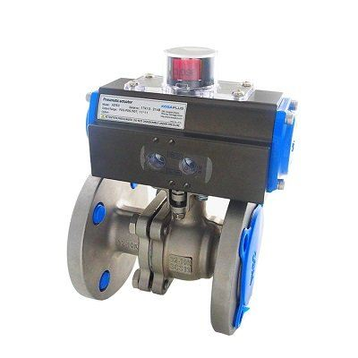 AUTOMA ANSI BALL VALVE BODY: SS304-316-WCB FIRE-SAFE ANSI150-300
