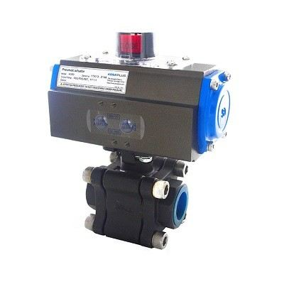 AUTOMA 3-PC WCB BALL VALVE ISO 5211 #AT326