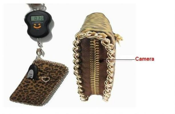 4GB Fashion Lady Handbag Camera DVR