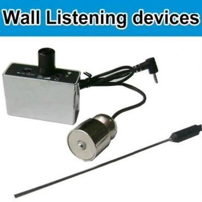 High Sensitive Wall Detect Listening Device with Memory card slot (can make audio recording)