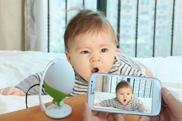 WiFi Baby Monitor -- Wireless Camera, Microphone, Night Vision, An