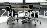 Drum-Series Meeting Table Conference Table with Metal Leg Conference Table