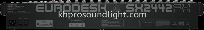 Behringer-EURODESK SX2442FX Behringer Mixer