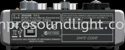 Behringer-XENYX 302USB Behringer Mixer