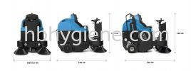 IMEC FS800H Ride on sweeper (petrol) Floor Sweeper Cleaning Machine