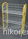 16951GN-2'WX3'H BASKET STD-3BASKET-GREEN BASKET RACKS