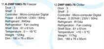St.steel 6 Feet Counter Chiller or Freezer  Counter Chiller / Freezer  Chiller and Freezer