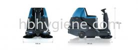 IMEC FSR-B - Ride On Battery Sweeper Floor Sweeper Cleaning Machine