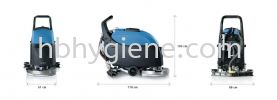 "IMEC FIMAP iMx50 20"" Battery Operated Walk Behind Auto Scrubber Auto Scrubber Cleaning Machine"