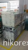 29731-NK1-PALLET MESH CONTAINER-640HX600WX800L MM Pallet Mesh Material Handling Equipment/Trolley