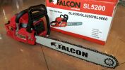 "FALCON SL5200E 20"" GASOLINE CHAIN SAW ID668306  Chain Saw Agricultural"