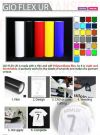 GIO-CAMM UR Print & Cut Film Gio-Lite Heat Transfer (Korea) PRINTING MEDIA
