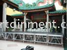 Aluminium Stage 4 ft to 5 ft Stage