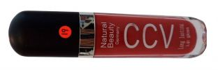 CCV Natural Beauty Lip Gloss Red Classic Colour (19) Lips Cosmetics