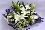 Lily Hand Bouquet (HB-287) LILY BOUQUET Hand Bouquet