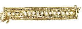 Design Gold Pearl Bracelet (Gold) Bracelet Jewellery