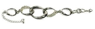 Plain Silver Chain Bracelet   Bracelet Jewellery