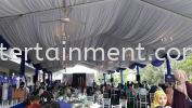 Marquee 15 Meter x 5 Meter With White Roof Tentage