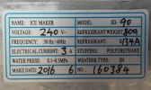 Ice Maker SD-90 ID119161 Ice Shaving/ Ice Dispenser / Slush Machine Food Machine & Kitchen Ware