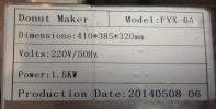 Mini Donut Making Machine ID997109  Sandwich/ Bread Maker/ Toaster  Food Machine & Kitchen Ware