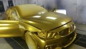 BMW Car Spray Gold Colour  BMW Car Spray Paint Service