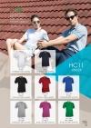 HONEY COMB Collar Tee Shirt Tee Shirt