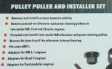 Pulley Puller and Installer Set ID337783 Engine / Undercarriage Series Garage (Workshop)